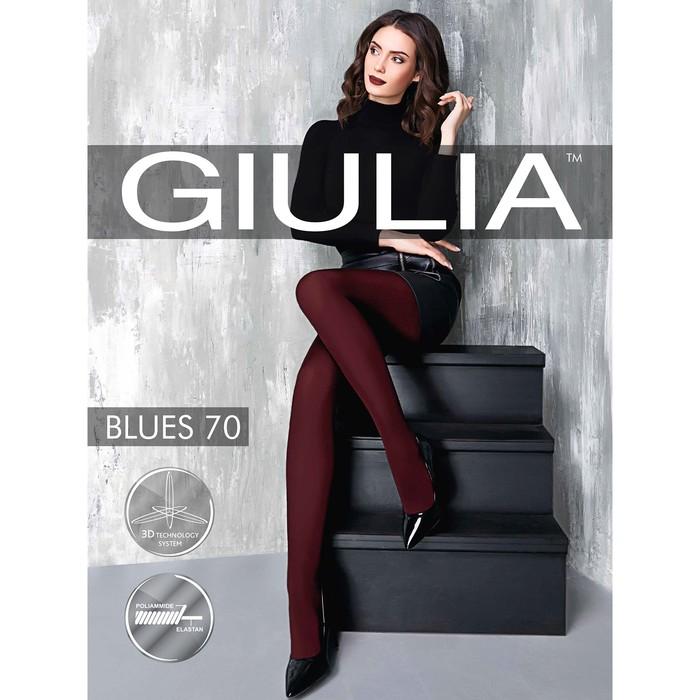Колготки женские BLUES 70 ден, цвет антрацит (greystone gul), размер 4