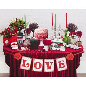 Набор для оформления свадьбы 'LOVE' Ош