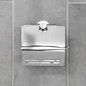 Держатель для туалетной бумаги с крышкой 'Классика' Ош
