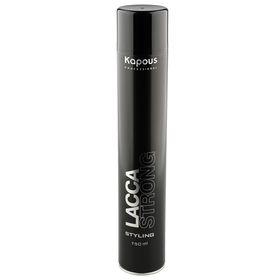 Лак для волос Kapous Professional, сильной фиксации, 750 мл