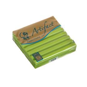 Пластика - полимерная глина 50 г «Суперпрочная формула» Зелёная хризантема