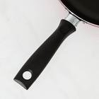 Сковорода Blaze, d=28 см, стеклянная крышка - Фото 4