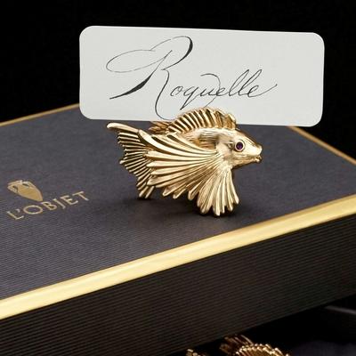 """Набор из 6 держателей для карточек """"Рыбка"""" серии Spice Jewels - Фото 1"""