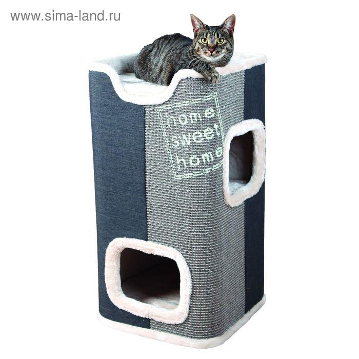 Домик-башня Trixie Jorge для кошки, 78 см, серый/антрацит