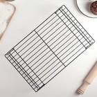 Решётка для остывания выпечки 3-х ярусная, 40,5×25 см, цвет чёрный - Фото 3