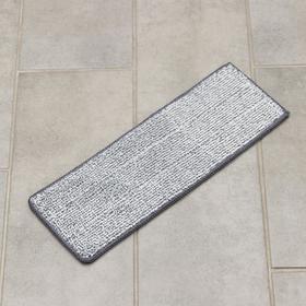 Насадка для плоской швабры (на швабру 1147256) 30×10 см, микрофибра, цвет МИКС