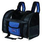Сумка-рюкзак Trixie Connor для кошек и собак до 8кг,42х29х21см, нейлон, черный/синий
