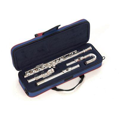 Флейта John Packer JP011CH С, посеребренная, изогнутая и прямая головка - Фото 1