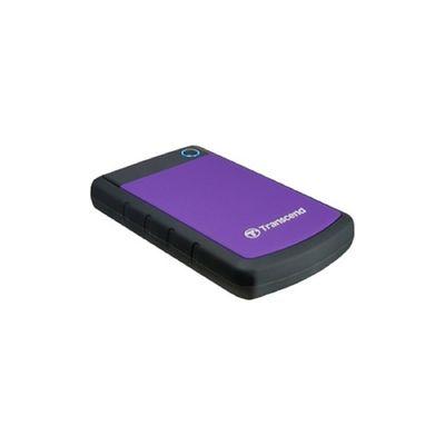 "Внешний жесткий диск Transcend USB 3.0 1 Тб TS1TSJ25H3P StoreJet 25H3P 2.5"", фиолетовый"