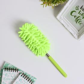 Щётка для уборки, телескопическая ручка 26-75 см, цвет МИКС Ош