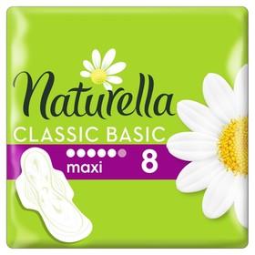 Прокладки «Naturella» Classi ароматизированные Basic Maxi, 8 шт/уп