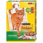 Сухой корм FRISKIES для кошек, кролик/птица/овощи, 400 г