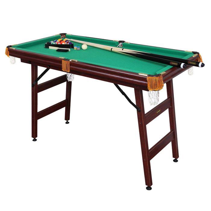 Бильярдный стол Fortuna Пул, 4фт, с комплектом аксессуаров