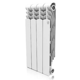 Радиатор алюминиевый Royal Thermo Revolution, 500 x 80 мм, 4 секции