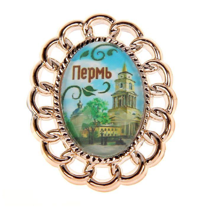 Магнит с фигурной рамкой Пермь. Художественная галерея
