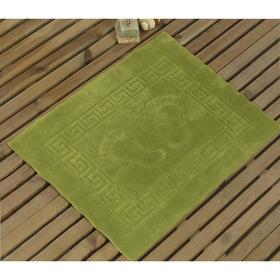Коврик Likya, размер 50x70 см, цвет зелёный