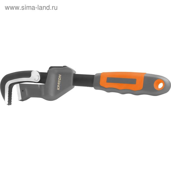 Ключ трубный быстрозажимной Кратон 300 мм