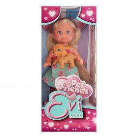 Кукла «Еви с зверюшками», 12 см, 3 вида