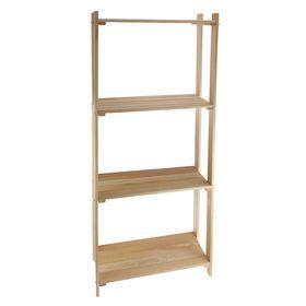 Стеллаж деревянный, 73×30×160см Ош