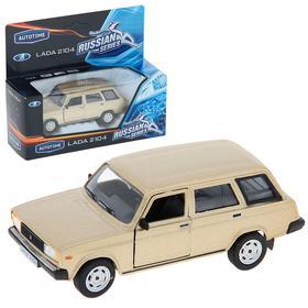 Машина металлическая «Lada 2104. Гражданская», масштаб 1:36, цвета МИКС