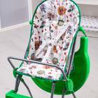 Стульчик для кормления Selby 152 «Совы», цвет зелёный - Фото 4