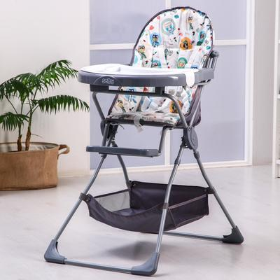 Стульчик для кормления Selby 252 «Совы», цвет серый - Фото 1