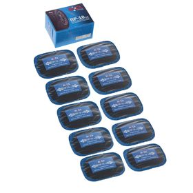 Пластырь резинокордный ПР-10 х.в, для радиальных шин, 55x75 мм, 1 слой корда, набор 10 шт. Ош