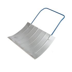 Движок оцинкованный, размер ковша 60 × 75 см, металлическая планка Ош