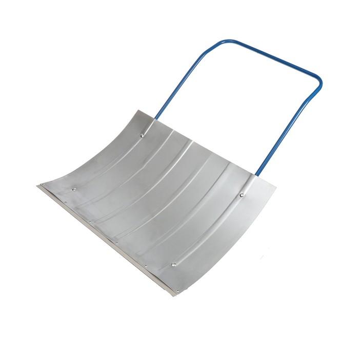 Движок оцинкованный, размер ковша 60 × 75 см, металлическая планка