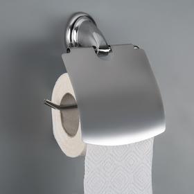 Держатель для туалетной бумаги с крышкой «Шарм» Ош