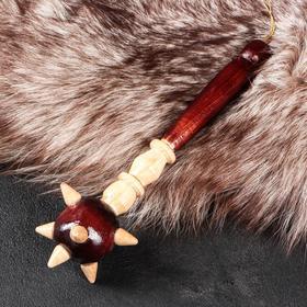 Сувенирное деревянное оружие 'Булава', 23 см, микс Ош
