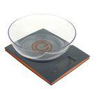 Весы кухонные ENERGY EN-424, электронные, до 5 кг, чаша 2 л, серые
