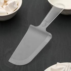 Лопатка кондитерская «Блеск», 18,5×6 см, цвет прозрачный Ош