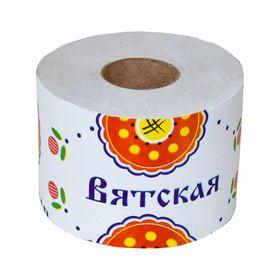 Туалетная бумага 'Вятская', 1 слой Ош