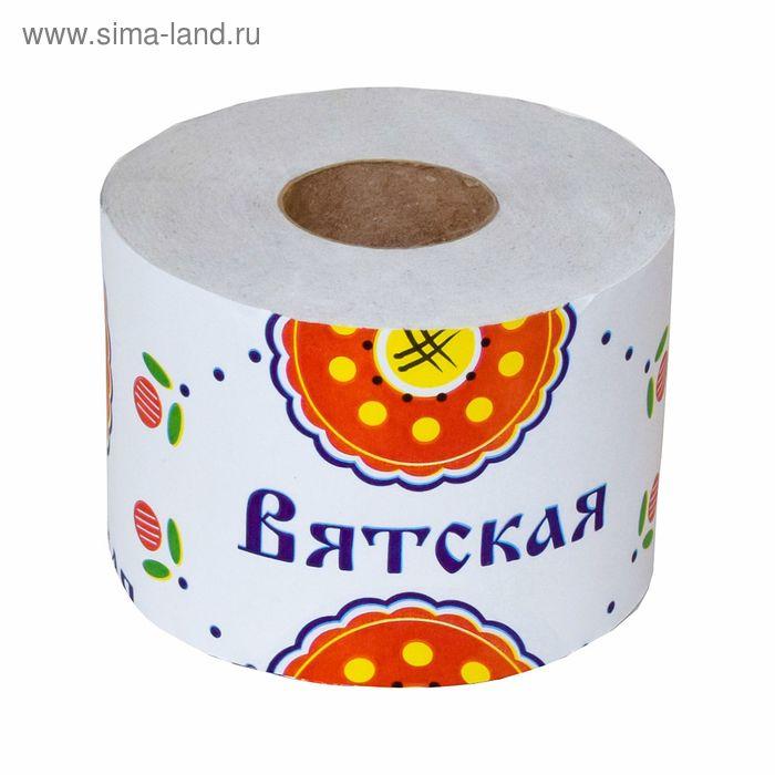 """Туалетная бумага """"Вятская"""", 1 шт."""