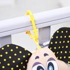 Подвеска мягкая «Собачка с косточкой» на кроватку/коляску, цвет МИКС - Фото 2