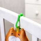Подвеска мягкая «Котик с рыбкой» на кроватку/коляску, цвет МИКС - Фото 7