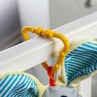 Подвеска мягкая «Зайка с морковкой» на кроватку/коляску, цвет МИКС - Фото 2
