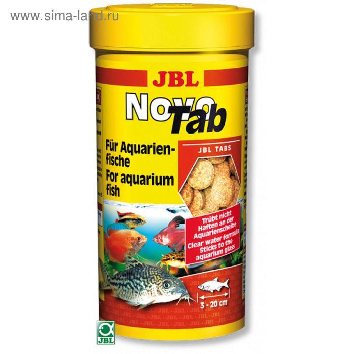 Корм JBL NovoTab для всех видов аквариумных рыб, таблетки, 250 мл.(400 шт.)