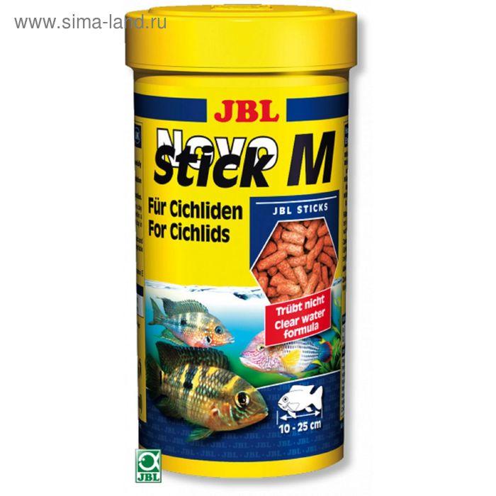 Корм JBL NovoStick M для плотоядных цихлид, палочки, 1000 мл, 440 г