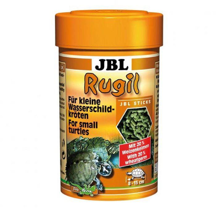 Корм JBL Rugil для маленьких водных черепах, палочки, 100 мл./35 г.