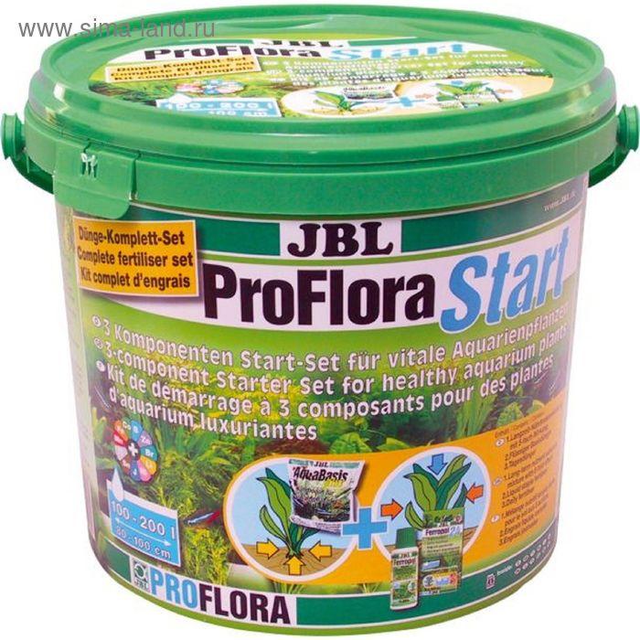 Стартовый комплект компонентный JBL ProFlora Start 3х для живых аквариум. растений, до 200л