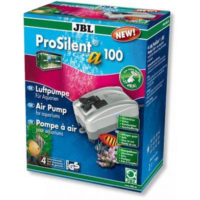 Компрессор сверхтихий JBL ProSilent a100, 100 л/ч для аквариумов, 40-150 л