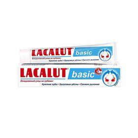 Зубная паста Lacalut Basic, 75 мл