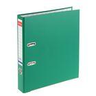 Папка-регистратор А4, 50 мм, «Стандарт», разборный, зелёный, этикетка на корешке, металлический кант, картон 2 мм, вместимость 350 листов