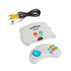 Игровая приставка Sega Genesis NanoTrainer, AV кабель, беспроводной джойстик, 40 игр, белый Ош