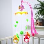 Мобиль музыкальный «Мишки», 5 игрушек, заводной, цвет МИКС