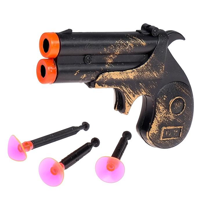 """Пистолет """"Пират"""", стреляет присосками"""
