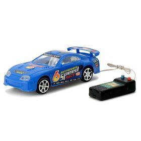 Машина «Супра», на дистанционном управлении, работает от батареек, цвета МИКС Ош