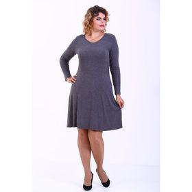 Платье женское, размер 44, цвет серый